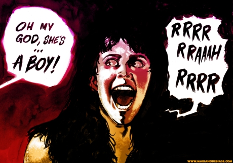 ANGELA MASCULINE FAN ART SLEEPAWAY CAMP