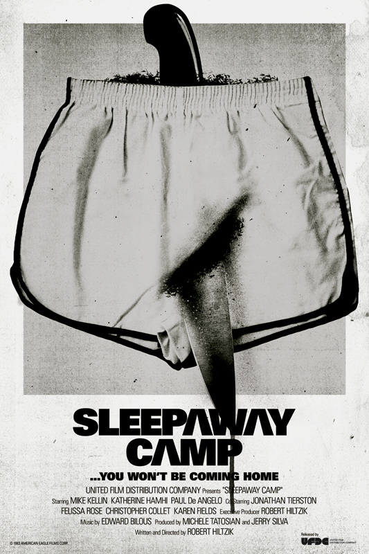 SLEEPAWAY CAMP FAN POSTER
