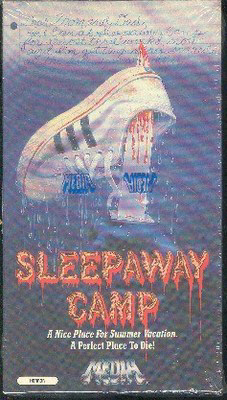SLEEPAWAY CAMP VHS ORIGINAL RELEASE IN SHRINK WRAP