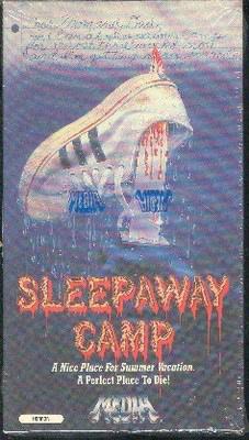 SLEEPAWAY CAMP VHS ORIGINAL RELEASE IN SHRINK WRAP